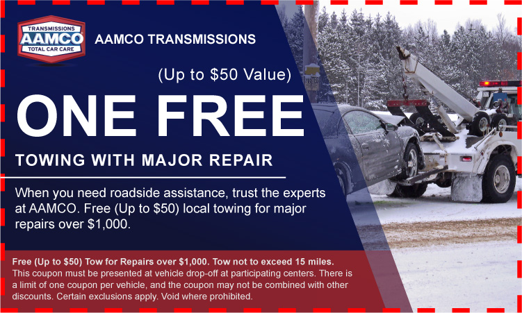 Free Towing with Major Repair Coupon