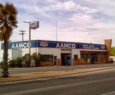 image of Las Cruces AAMCO service center from street